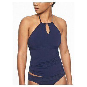 NWT Athleta 2 Piece Tankini Navy Swimsuit Size XXS